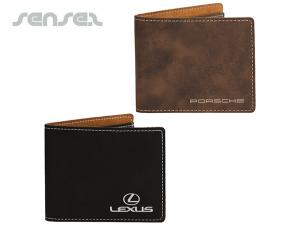 Luxurious Slim Leatherette Wallets