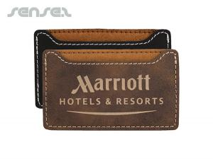 Leatherette Card Holders
