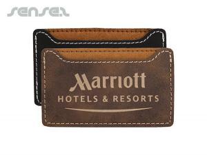 Smart Leatherette Card Holder Wallets