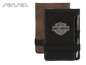 Exclusive Leatherette Pocket Note Pads