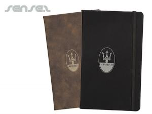 Sueded Leatherette Notebooks