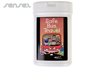 Antibakterielle Wischtücher Mini Kanister
