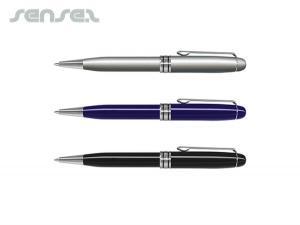 Twist Action Pens mit lackierten Fässern