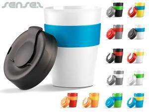Wiederverwendbare Kaffeetasse Deckel