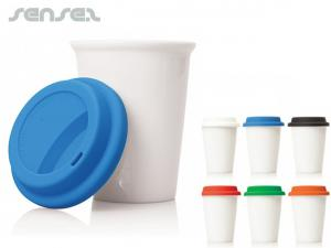 Reusable Silicone Lids for Coffee mugs (270 or 330ml)