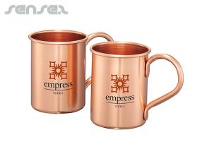 Copper Coated Aluminum Mug Gift Sets (410ml)