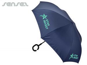 Innovative Umbrellas with J Or C Handle