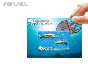Credit Card Flash Drives (4GB) On Custom Backing Cards