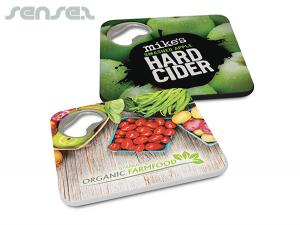 2 in 1 Coasters Bottle Openers