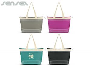 Striped Tote Bags