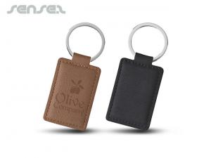 Faux Leather Keyrings