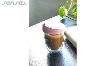 Thermo Glass Coffee Cups 355ml