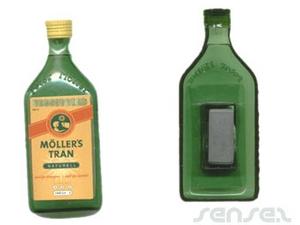 3D molded Bottle Magnets