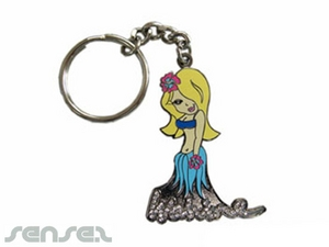 Diamante Key Chains