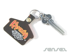Custom shaped PVC Key Chains