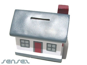 House Shaped Coin Banks