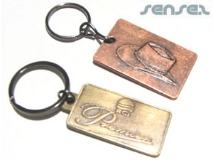 Antique Look Key Chains