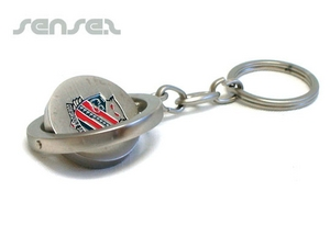 Spinning Metal Key Chains