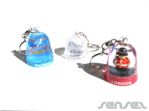 Snow Dome Key Chains