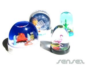 3D snowdomes