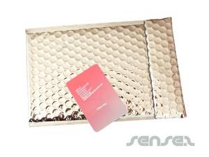 Silver Foil Bubble Envelopes (custom)
