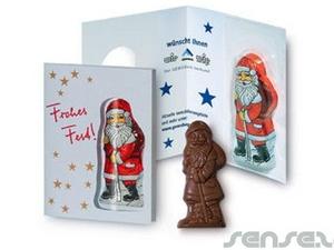 Chocolate Cards - Xmas