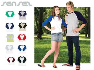Raglan Shirts (3 Quarter Sleeve)