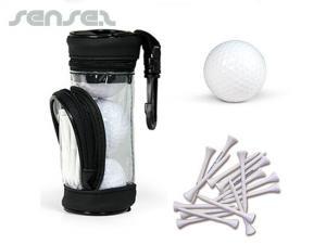 Golf Ball and Tee Gift sets