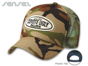 Camouflage Trucker Caps