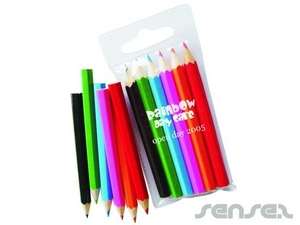 Colour Pencil Sets in a Mini PVC Pouch