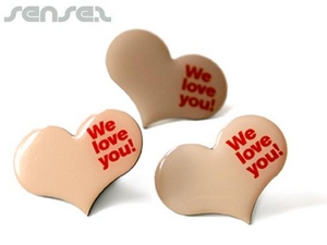Custom Shaped Epoxy Badges