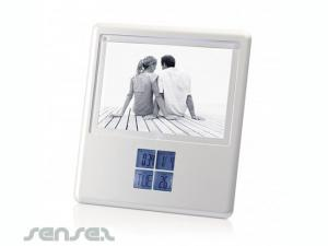 Picture Frame With Multifunction LCD Alarm Clock