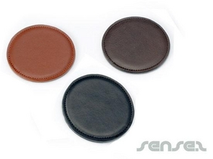 Coasters - Leather