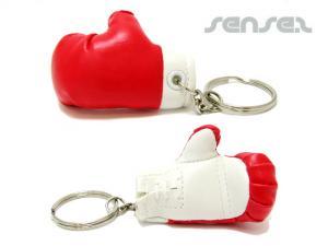 Schlüsselanhänger Box Handschuh