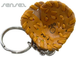 Baseball Glove Sport Key Chains