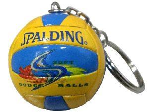 Ball Shaped Keyrings - Volleyball