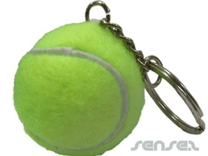 Tennis Ball Sport Key Chains