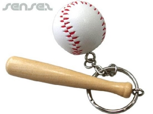Baseball Bat Sport Key Chains