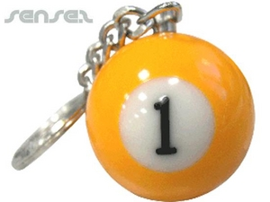 Pool Ball Key Chains