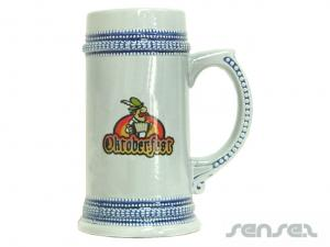 Beer  Mugs - Stone