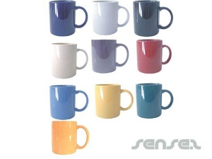 Standard Coloured Mugs