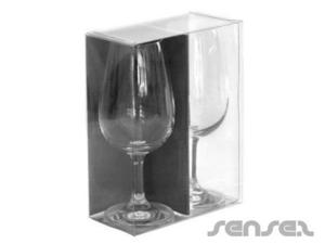 Verpackte Weingläser
