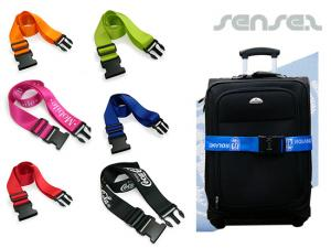 Luggage Belts With Lock