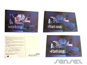 Wackelbild Postkarte
