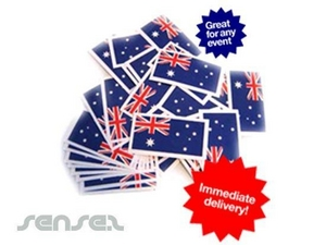 Stock Australian Flag Temporary Tattoos