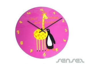 Glassy Wall Clocks