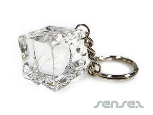 Ice Cube Key Chains