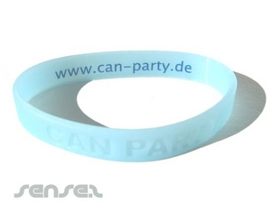 UV Sensitive Silicone Wristbands