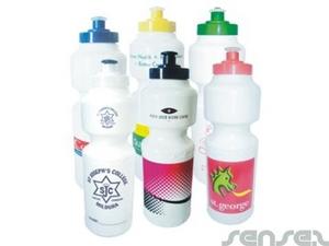 Screw Top Water Bottles 750ml (BPA Free) - White