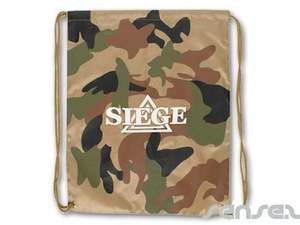 Camouflage Drawstring Nylon Bags